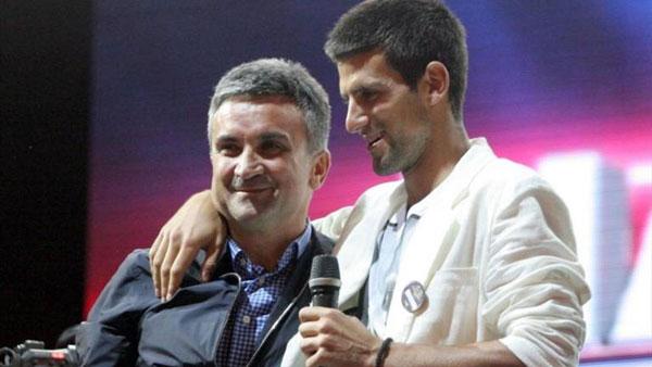 Срджан и Новак Джокович