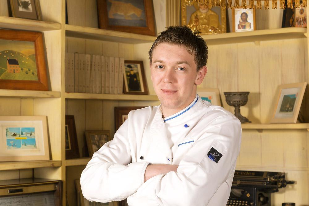Шеф-повар Живойин Радивоевич