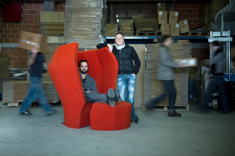 Дизайнеры Лука Степан и Домен Газвода из дизайн-агентства Gigodesign.